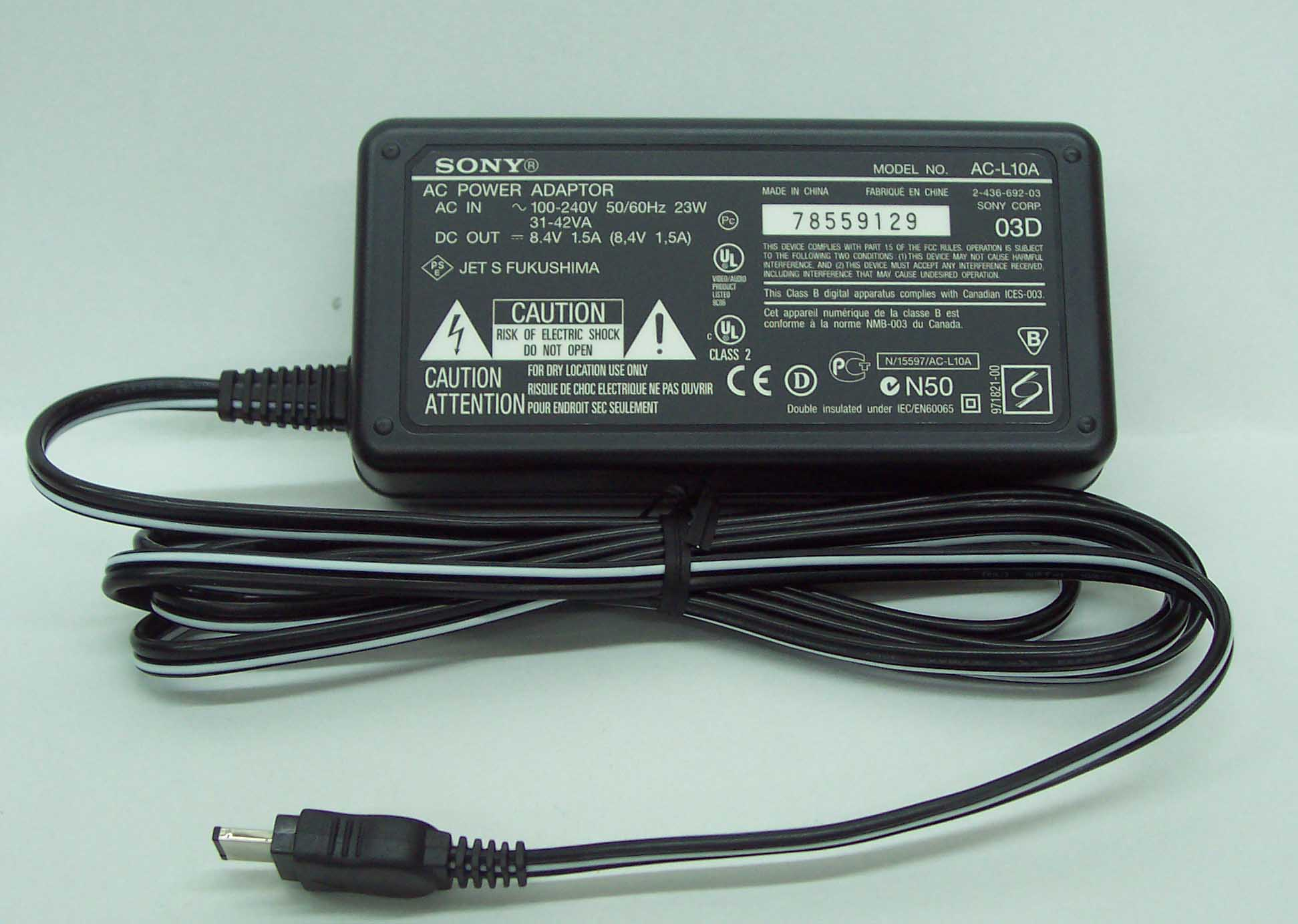 ADAPTOR ACL10A