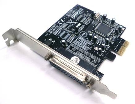 Card PCI-E to DB25 - 1 port