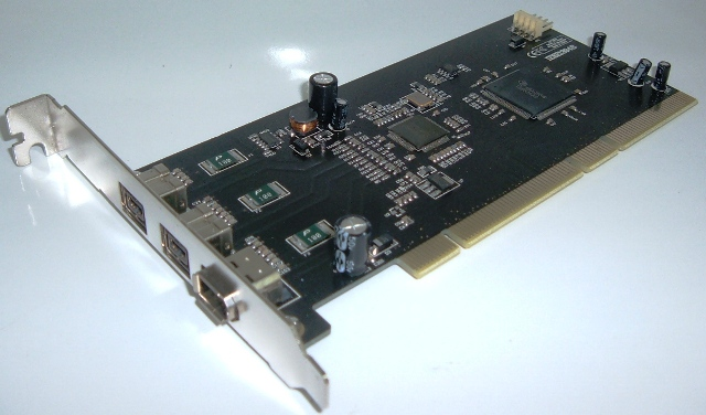 Card PCI to Firewire 800 - 3 Ports CA800