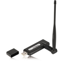 Edimax USB wireless adaptor 150Mbps EW-7711HPn