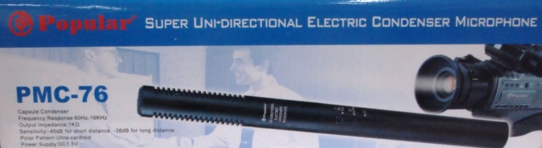 UNI-DIRECTTIONAL CONDERSER MIC PMC-76