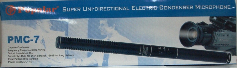 UNI-DIRECTTIONAL CONDERSER MIC PMC-7