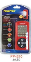 PowerPac 21LED Camping Light with Timer & Night Light