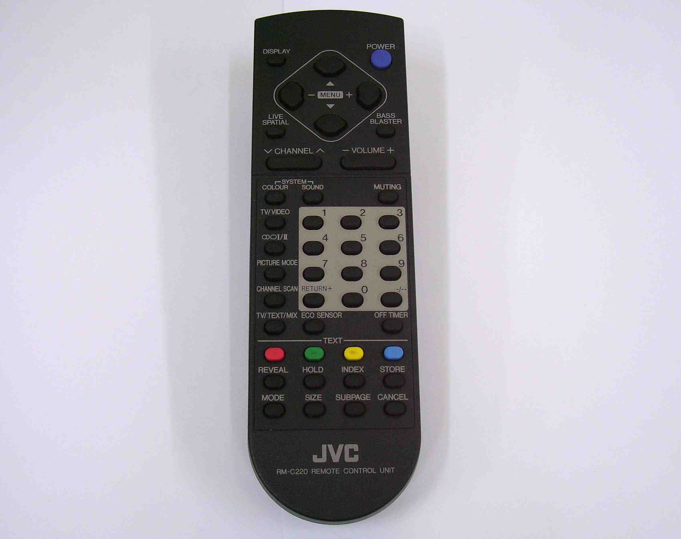 149271011 Sony Remote Commander RM-ANU192
