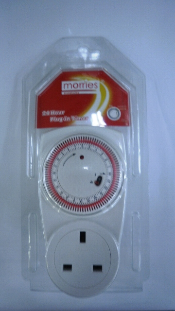 Socket with plug-in Timer Morries TE-01A