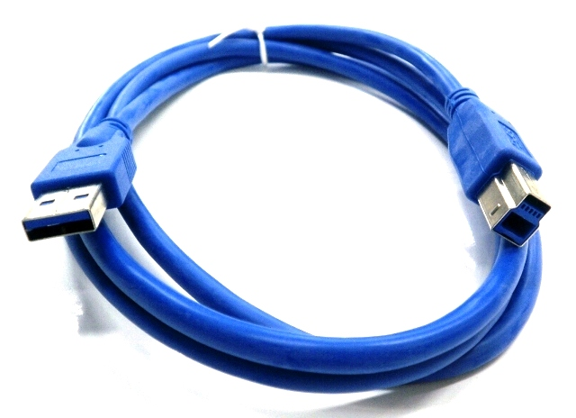 Cable USB3.0 A-B Male/Male 1.5m