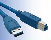 Cable Unitek Y-C408 - usb3.0 A-B Male/Male 1.5m
