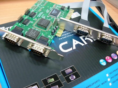 Card PCI to RS232 - 4 port CA011